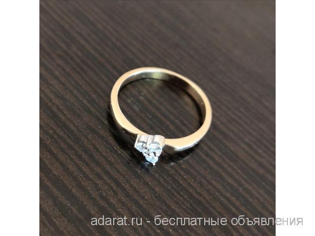 Золотое кольцо с Бриллиантами 2 гр - 2/2