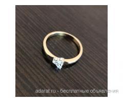 Золотое кольцо с Бриллиантами 2 гр